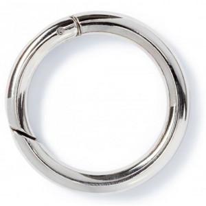 Mousqueton ronds poussoirs, bronze, Taille L