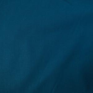 Tissu coton uni bleu paon oekotex ® Jekyll - par 10cm
