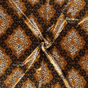 doublure satin graou losange noir x10cm