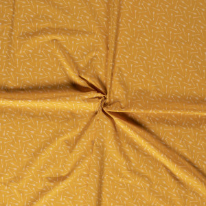 popeLine jaune flèche Oekotex® x10cm