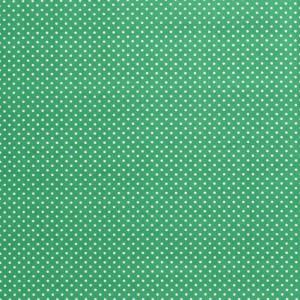 popeLine vert prairie à petits pois x10cm