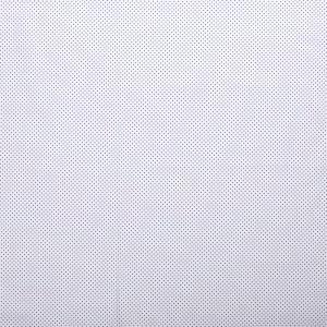popeLine blanche petits pois bleu cobalt x10cm