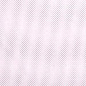 popeLine blanche petits pois rose x10cm