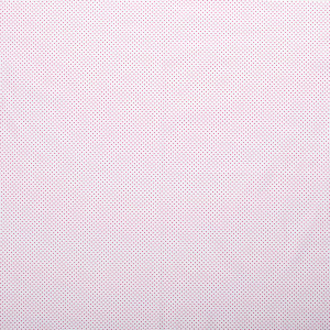popeLine blanche petits pois rose fushia x10cm