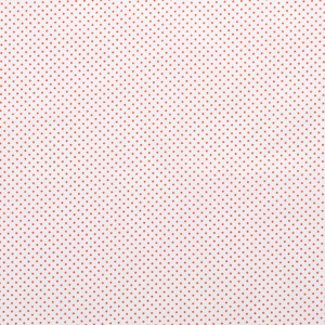 popeLine blanche petits pois orange x10cm