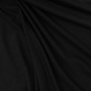 Tissu jersey viscose Noir - Tissu oeko tex  - Mercerine