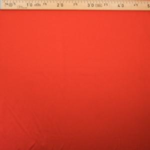 Tissu jersey viscose Orange - Tissu oeko tex  - Mercerine