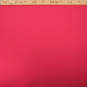 Tissu jersey viscose Rose fuchsia - Tissu oeko tex  - Mercerine