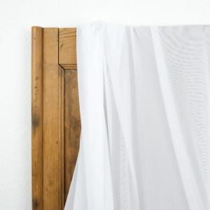Tissu sport lingerie filet blanc Mesh stretch