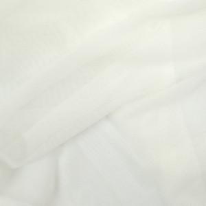Tissu sport lingerie filet Mesh stretch écru
