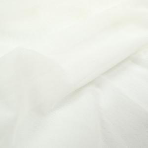 Tissu sport lingerie filet Mesh écru stretch