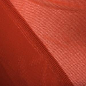 Tissu Mesh stretch terracotta