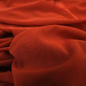 Tissu sport terracotta
