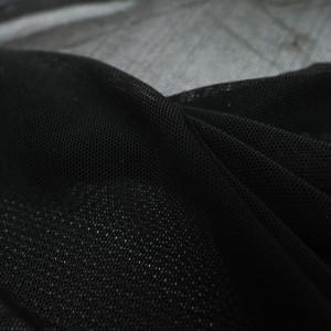 Tissu Mesh stretch noir