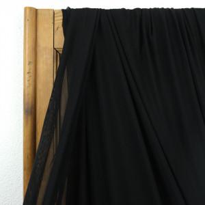 Tissu lingerie noir filet Mesh stretch