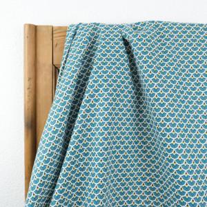 Coton eventails foret -Tissu Coton imprimé