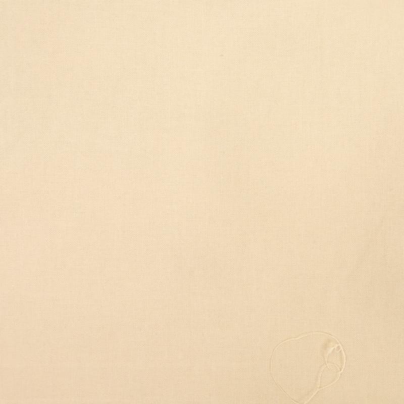 Coton beige - percale de coton