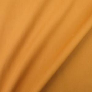Popeline ocre Camille - Tissu coton - label oeko tex - Teinté en France - Mercerine