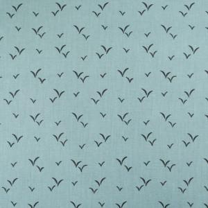 Coton imprimé - Tissu oeko tex Penfret azur  - Mercerine