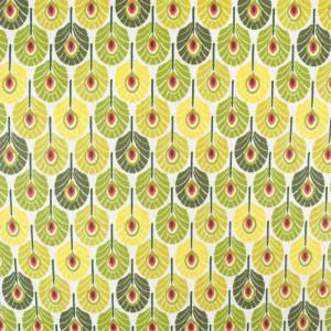 Coton Enduit mini plume de paon  - Mercerine