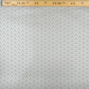Coton Enduit Riad argent  - Mercerine