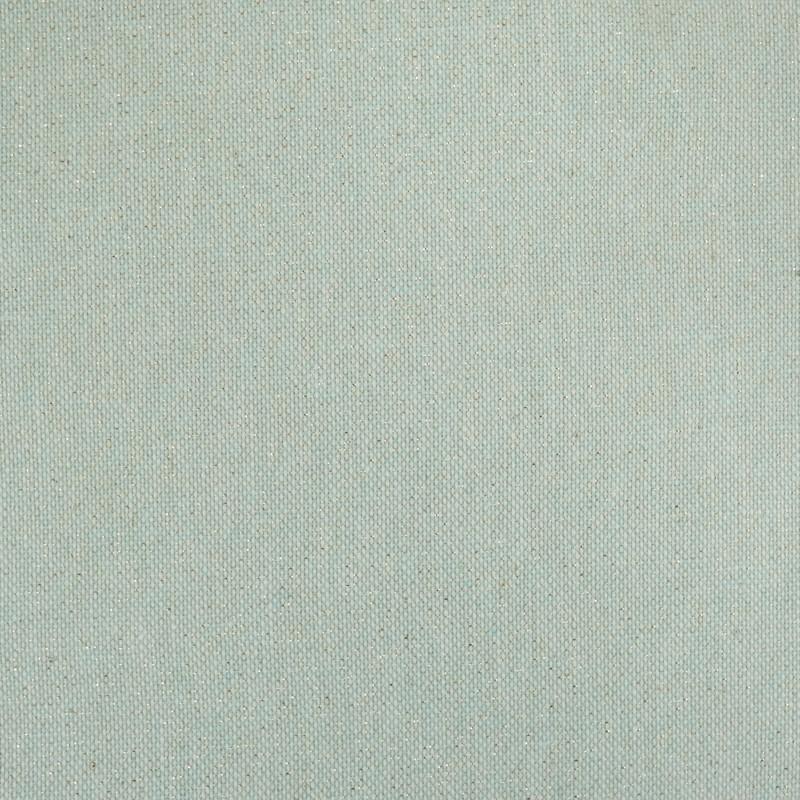Tissu enduit pailleté vert amande   - Mercerine
