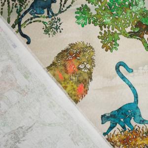 Tissu coton Africana multicolore
