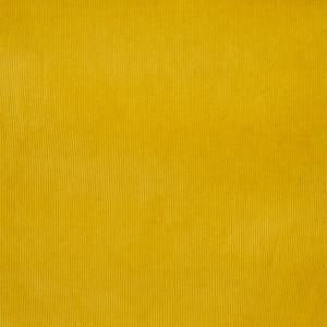 Velours milleraies jaune extensible Oekotex - Mercerine