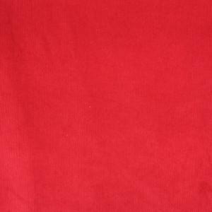 Velours milleraies rouge Oek otex - 10cm - Mercerine