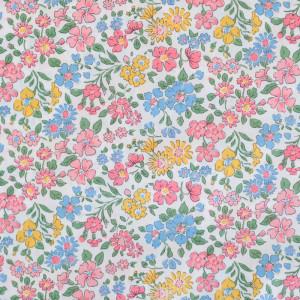 Tissu Liberty of London rose Annabella - Vente de tissus - Mercerine.com