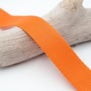 Sangle 3cm polypropylène orange