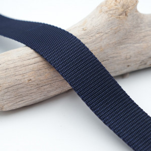 Sangle 3cm  polypropylène bleue marine