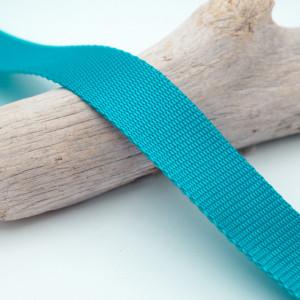 Sangle 3cm polypropylène turquoise
