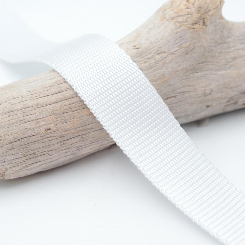 Sangle 3cm polypropylène blancVictor -