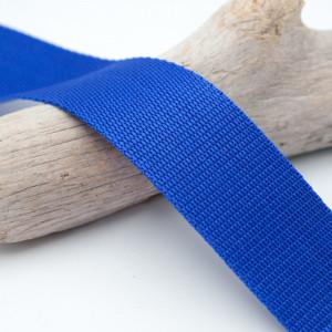 Sangle 4cm polypropylène bleue roi