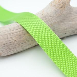 Sangle 3cm polypropylène vert anis