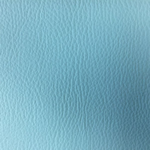 Tissus simili cuir bleu ciel Karl - Mercerine.com