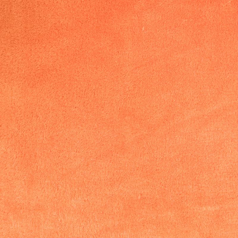 Polaire flanelle orange Leandro