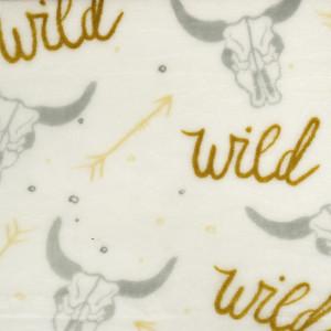Polaire Double face Wild west-
