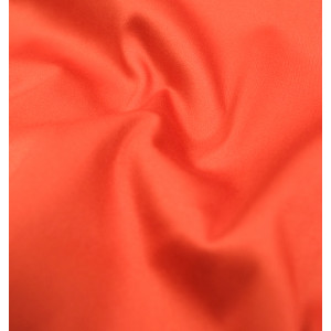Satin de coton Orange stretch
