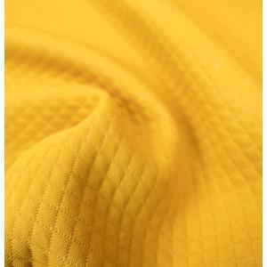 Jersey Matelasse Jaune moutarde