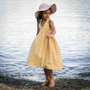 LEMON SQUASH Enfant robe et blouse- PM Patterns