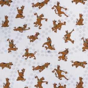 Tissu Scooby doo impression digitale