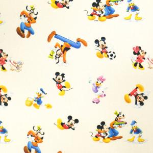 Tissu Mickey Dingo et leurs amis- Disney