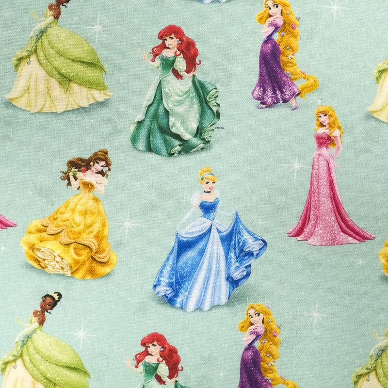 Tissu Princesses Disney Vintage