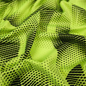 Tissu sport activewear jaune fluo
