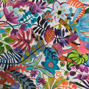 Coton Liberty Fabrics Jungle Trip A