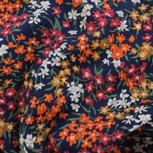 Coton Liberty Fabrics Sea Blossoms C