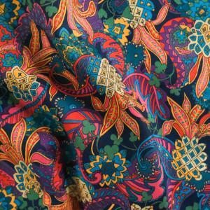 Coton Liberty Fabrics Pineapple B
