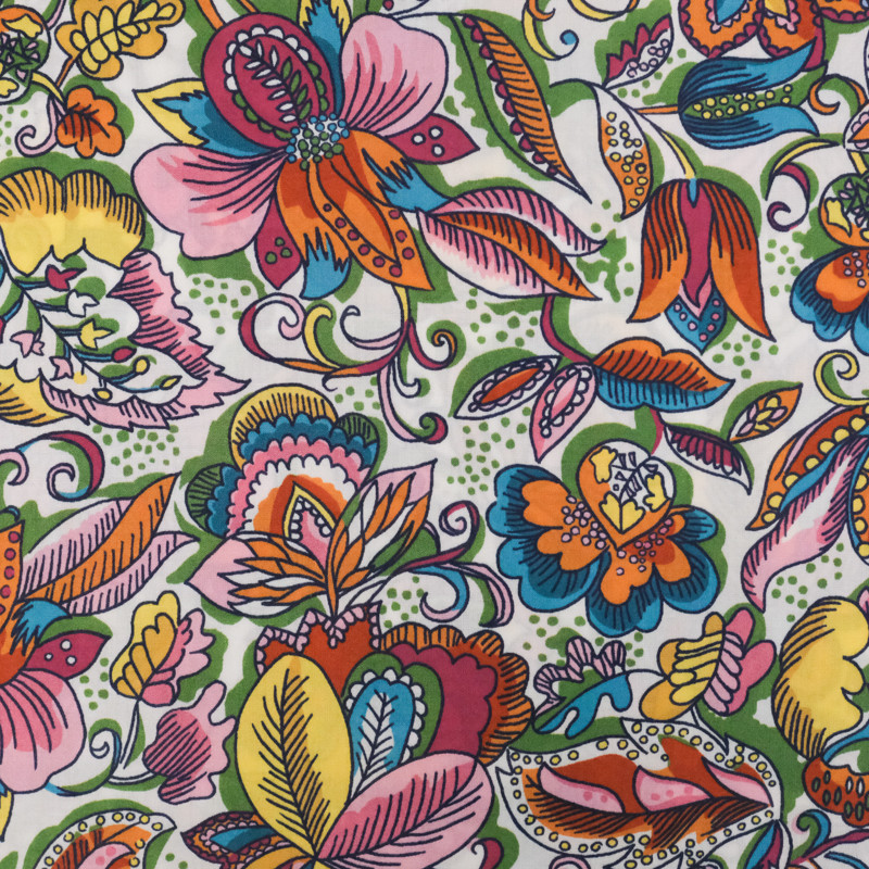 Coton Liberty Fabrics Passion Blooms B
